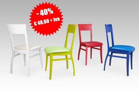 Offerte sconti promozioni su sedie tavoli e poltrone in legno a